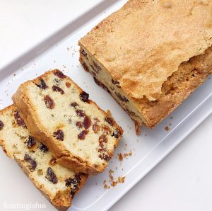 Mixed Fruit Loaf Cake
